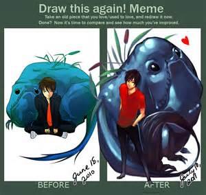 draw this again meme template draw this again meme by littlewinterheart on deviantart