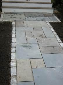 bluestone rectangular cut walkways and patios