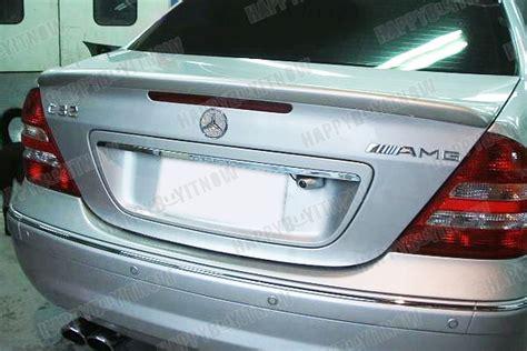 Trunk Spoiler Ducktail Mercedes W203 Taiwan 50 off 01 07 mercedes w203 l type primed trunk boot