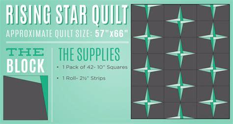 rising star pattern grading system new friday tutorial the rising star quilt