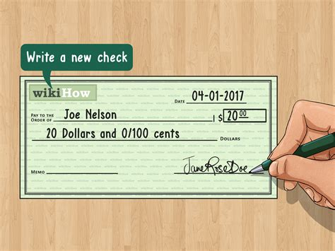 Do You Write Out Dollar Amounts In An Essay by How To Fix Mistakes Made When Writing Checks 10 Steps
