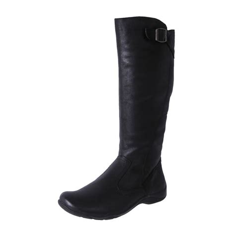 comfort boots for women new planet shoes women s leather comfort casual knee high