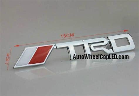 Emblem Toyota Calya 15cm Trd Toyota Front Grille Emblem Grill Badge Chrome Silver