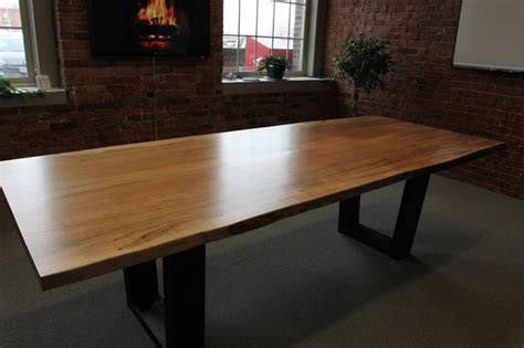 Modern Dining Room Furniture Toronto Toronto Live Edge Wood Dining Room Tables Contemporary Dining Tables Toronto By Tree