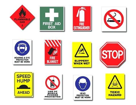 Free Printable Safety Signs