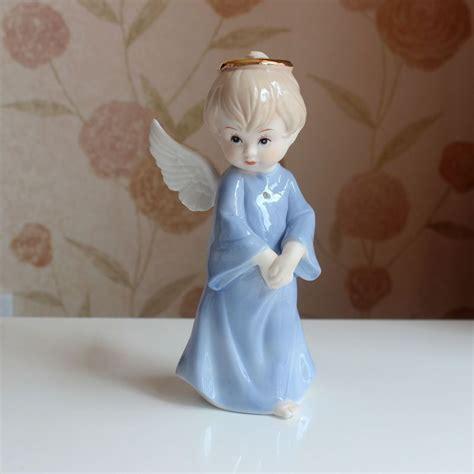 decorative figurines for home cute porcelain angel baby figurine ceramic tabletop art