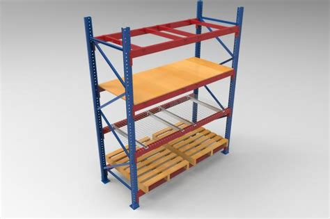 cold rolled steel racking pallet rack shelving