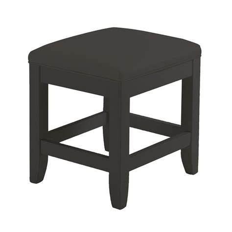 Vanity Stool Black by Shop Home Styles 19 In H Black Rectangular Makeup Vanity
