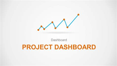 project dashboard template powerpoint orange project dashboard powerpoint template slidemodel