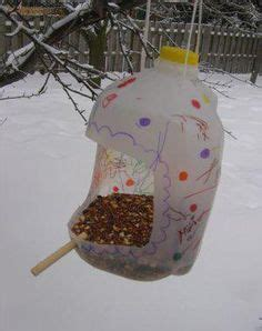 Hiasan Craft Bird bird feeders recycled crafts and plastic bottles on