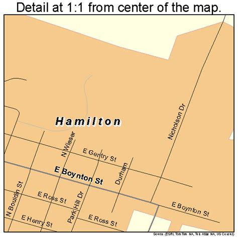 hamilton texas map hamilton texas map 4831952