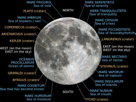moon map lunar mare