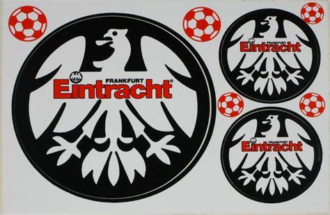 Auto Aufkleber Eintracht Frankfurt by Eintracht Zvab