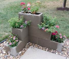 25 best ideas about concrete blocks on garden