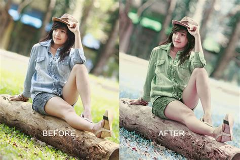 cara edit foto dengan photoshop ala fotografer false color effect dengan photoshop