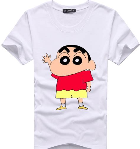 Sinchan T Shirt crayon null characters promotion shop for promotional