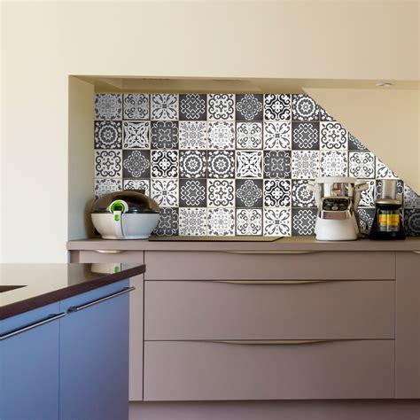 stickers carreaux de ciment nuance de gris rimini salle de bain  wc salle de bain