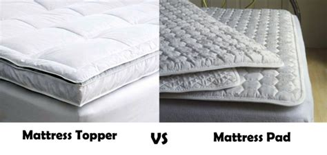 Mattress Pad Vs Mattress Topper what is the difference between mattress topper and pad