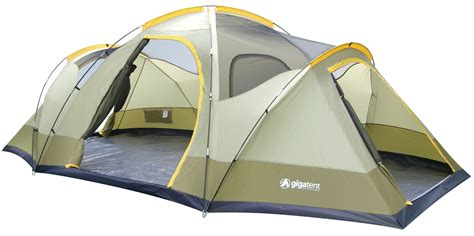 3 Room Family Dome Tent by Gigatent Wolf Mountain 3 Room Family Dome Tent