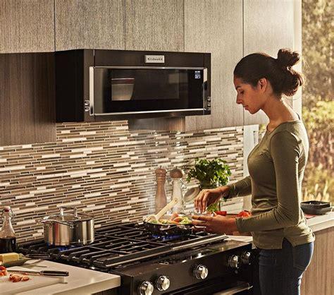 kitchenaid  profile microwave  hood combination