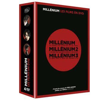 libreria millennium mill 233 nium coffret de la trilogie dvd zone 2 niels