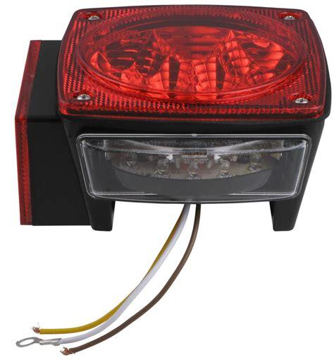 miro flex led trailer stopturntail light  license