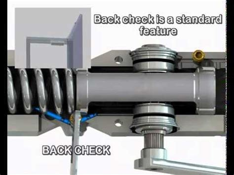 How To Fix Automatic Door Closer by Abloy Door Closer Dc335 Mp4