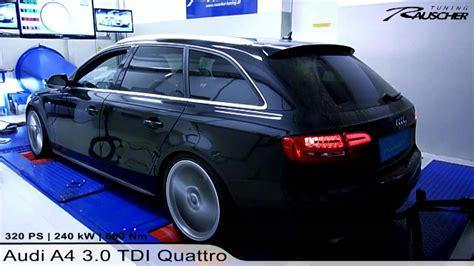Audi A4 3 0 Tdi Tuning by Audi A4 3 0 Tdi Quattro By Rauscher Tuning Youtube