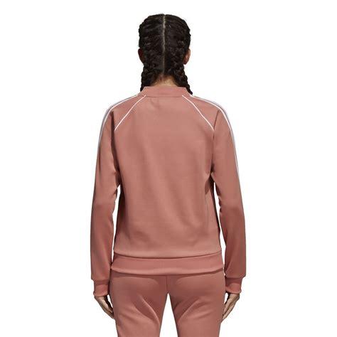 Jaket Adidas Pink Fanta adidas originals sst track jacket adicolor quot ash pink quot ce2398 best shoes sneakerstudio
