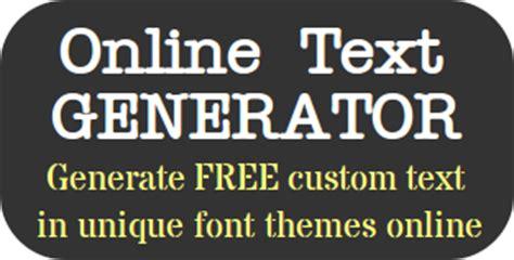 text generator  text creator maker