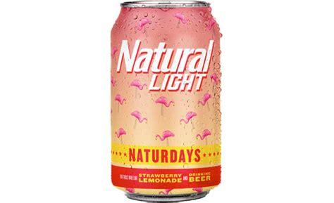 natural light strawberry lemonade beer naturdays