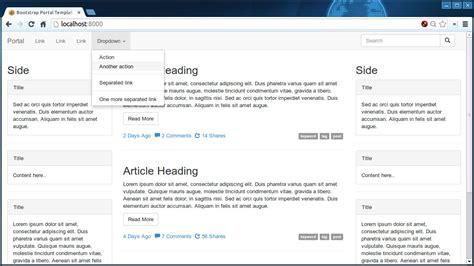 bootstrap themes free portal bootstrap theme factory portal