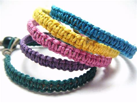 Handmade Hemp Bracelets - handmade hemp bracelets ways to craft with hemp