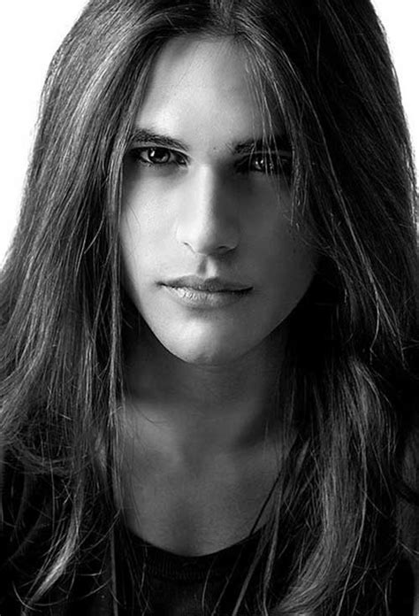 male models with long straight hair 30 long hair men mens hairstyles 2018