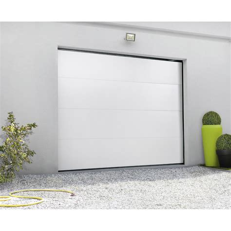 porte de garage sectionnelle motoris 233 e primo h 200 x l 240