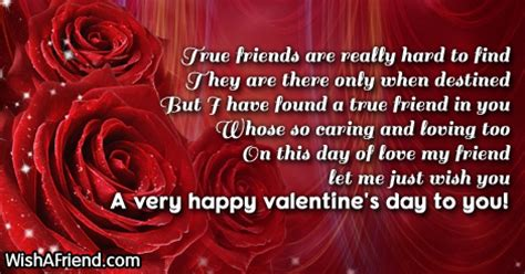 what to get a friend for valentines day true friends are really to valentines day message