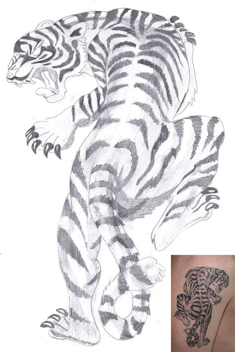 free tiger tattoo designs free tiger white tiger by aidan8500 on