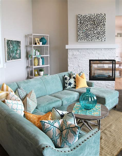 Blue Armchair Design Ideas Best 25 Living Room Turquoise Ideas On Pinterest Colour Schemes For Living Room Warm Colour