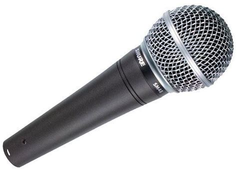 shure sm48 lc vocal microphone rw harmonicas
