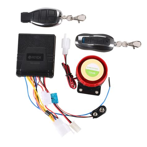Alarm Immobilizer motorcycle security anti theft motorbike alarm system