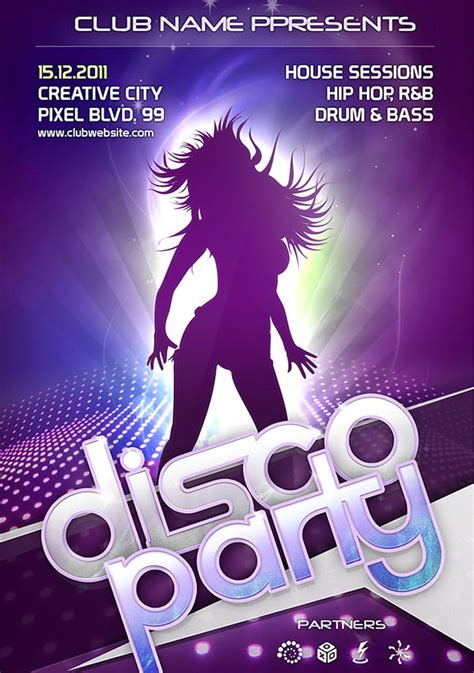 60 Best Free Flyer Templates Psd Css Author Free Nightclub Flyer Templates
