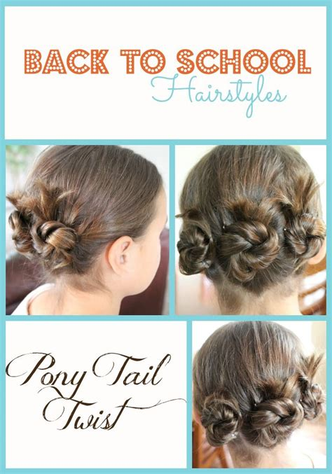 easy hairstyles for school that you can do yourself getting ready for back to school with back to school