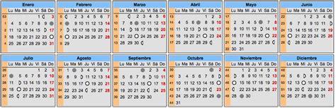 Calendario Lunar Embarazo Para 2016 | calendario lunar 2016 elembarazo net