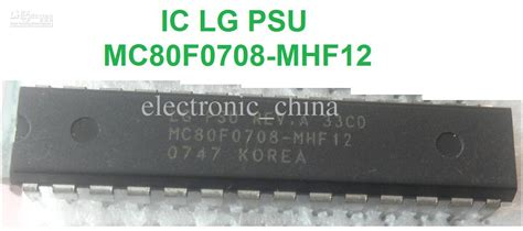 integrated circuit in korean integrated circuit mc80f0708 mhf12 ic 28 pins mc80f0708 mhf12 top electronic gadgets buy cheap