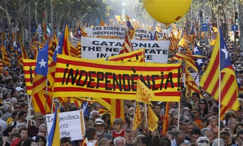 scotland got its referendum but all catalonia gets is
