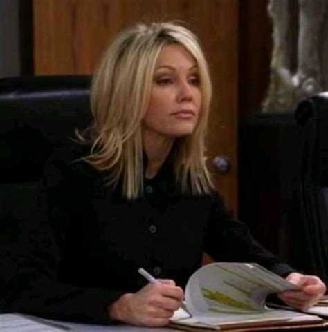 did laura mauro cut her hair heather locklear on two and a half men love her hair