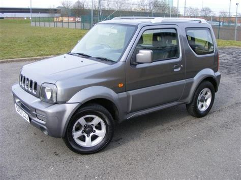 Road Suzuki Jimny For Sale Used Grey Suzuki Jimny 2007 Petrol 1 3 Jlx 3dr Auto Estate