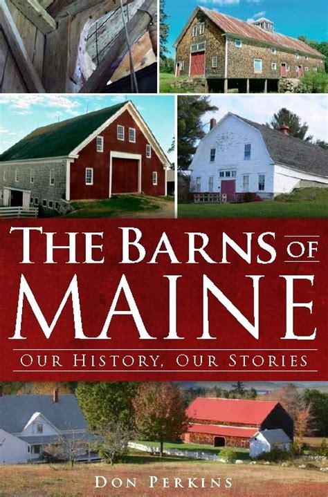 barns  maine author  talk  belfast library penbay pilot