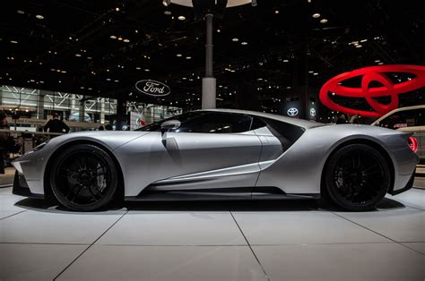 ford gt silver ford gt repainted silver for chicago show will be