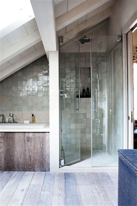 bathrooms in attic spaces attic bathroom with bath shower space bathroom design ideas houseandgarden co uk